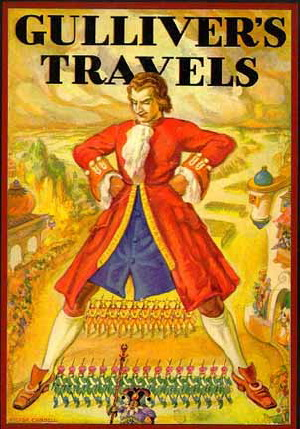 a parody on society and the human race in gullivers travels by jonathan swift Why jonathan swift wanted to 'vex the world' with gulliver's travels  houyhnhnmland is a caste society practicing eugenics swift's equine utopians have a flourishing oral culture but .