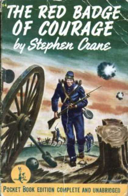 imagery in the red badge of courage In his novel the red badge of courage, stephen crane  use of many types of  figurative language, including symbolism, imagery, irony and.